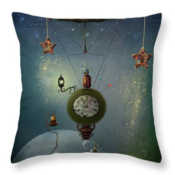 A Stitch In Time Saves Nine Throw Pillow