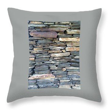 A Stone's Throw Throw Pillow
