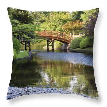 A Stone's Throw Away Throw Pillow by Andrea Silies