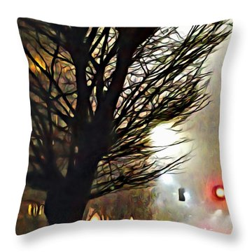 A Stop On My Journey Throw Pillow