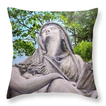 A Story Told Throw Pillow
