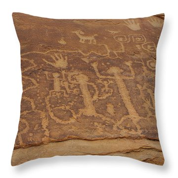 A Story Unfolds Throw Pillow