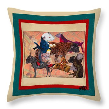 A Strange And Wonderful People Throw Pillow