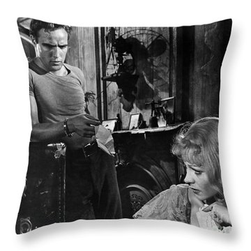 A Streetcar Named Desire Throw Pillow by Granger