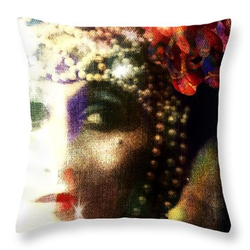 A String Of Pearls Throw Pillow