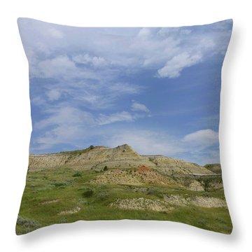 A Summer Day In Dakota Throw Pillow