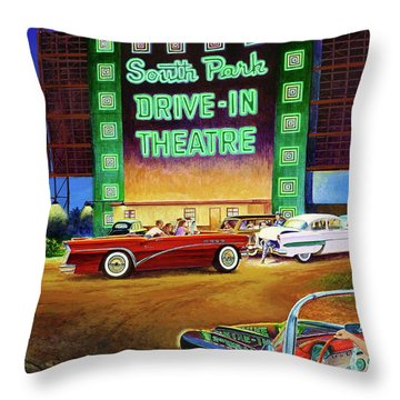 A Summer Remembered Throw Pillow