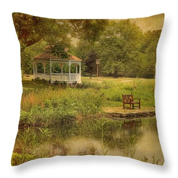 A Summer's Day In Princeton Throw Pillow