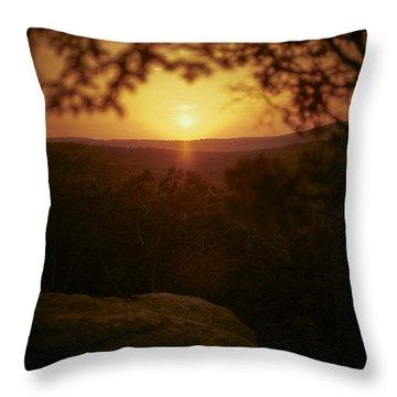 A Sun That Never Sets Throw Pillow