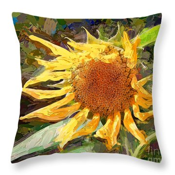 A Sunkissed Life Throw Pillow
