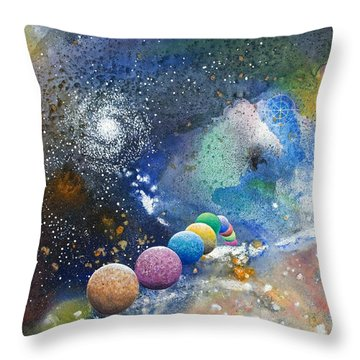 A Sweet Dance In The Heart Of God Throw Pillow by Lee Pantas