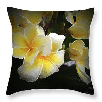 A Symbol Of Grace Throw Pillow