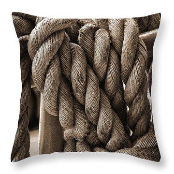 A Tangled Mess Throw Pillow