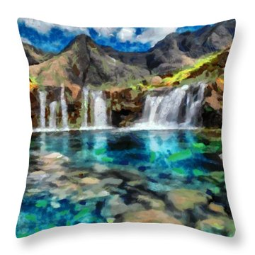 A Taste Of Paradise Throw Pillow