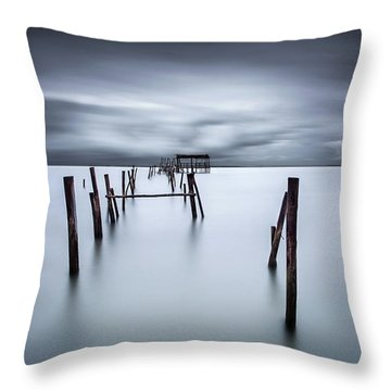 A Test Of Time Throw Pillow by Jorge Maia