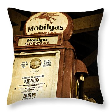 A Thing Of The Past Throw Pillow