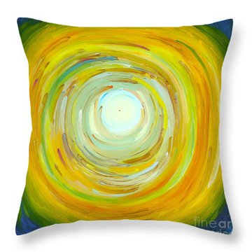 A Thought Before The Sunrise Throw Pillow