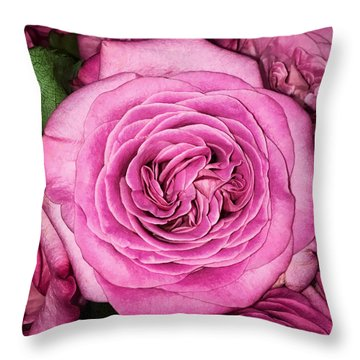 A Thousand Petals Throw Pillow