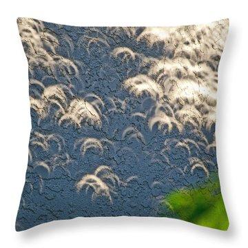 A Thousand Suns - Ring Of Fire Eclipse 2012 Throw Pillow by Bill Owen