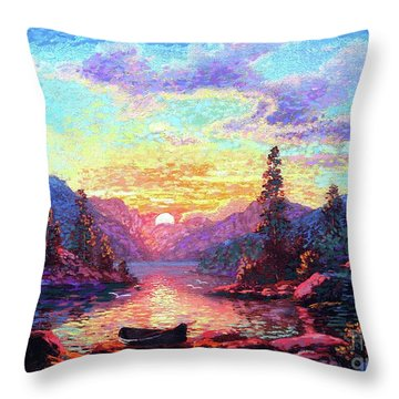 A Time For Peace Throw Pillow