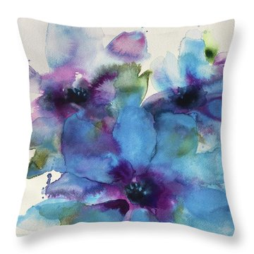 A Time To Bloom Throw Pillow