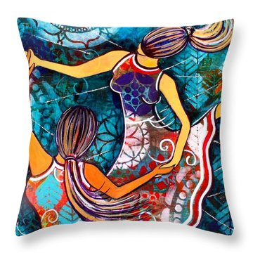 A Time To Dance Throw Pillow