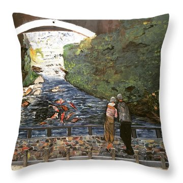 A Time To Ourselves Throw Pillow