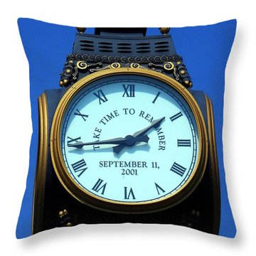 Throw Pillow featuring the photograph A Time To Remember by Allen Beilschmidt