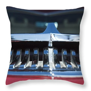 A Toothy Grin Throw Pillow