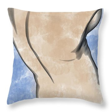 A Torso Throw Pillow by Peter J Sucy