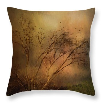 A Touch Of Autumn Throw Pillow