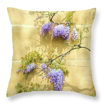 A Touch Of Lilac Throw Pillow
