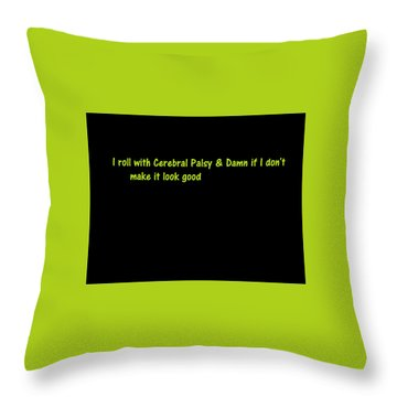 Throw Pillow featuring the photograph A Touch Of Truth by Aaron Martens