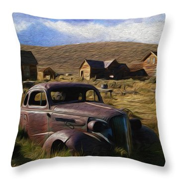 A Town Called Bodie Throw Pillow