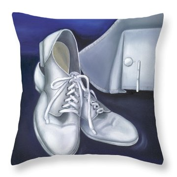 A Tradition Of White Throw Pillow