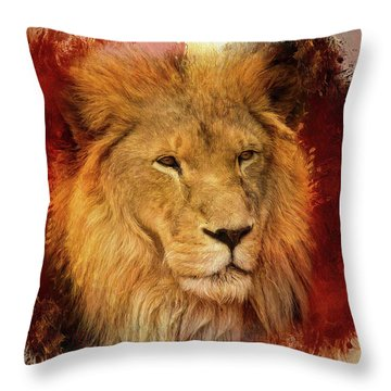 A Tribute To Asante Throw Pillow