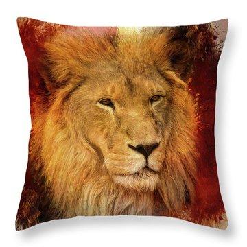 A Tribute To Asante Throw Pillow