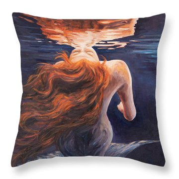 A Trick Of The Light - Love Is Illusion Throw Pillow