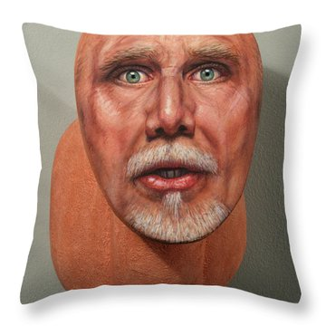 A Trophied Artist Throw Pillow by James W Johnson