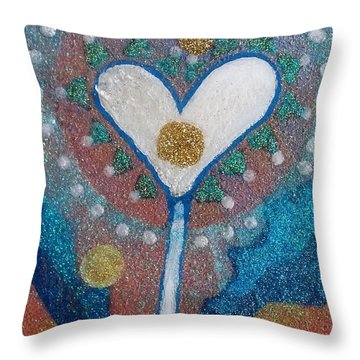 A Type Of Dandelion Throw Pillow