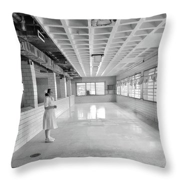 A View From Insanity Throw Pillow