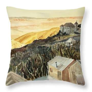 A View From Jerome Throw Pillow