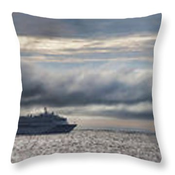 A View From The Shore Throw Pillow