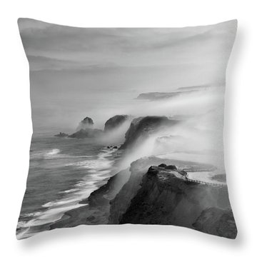 A View Of Gods Throw Pillow by Jorge Maia