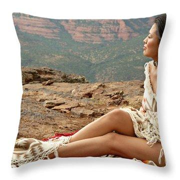 A View Throw Pillow