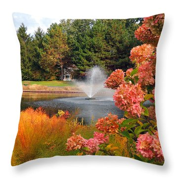 A Vision Of Autumn Throw Pillow