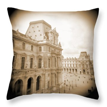 A Walk Through Paris 20 Throw Pillow by Mike McGlothlen