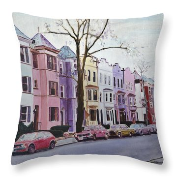 A Walk With Dale Throw Pillow