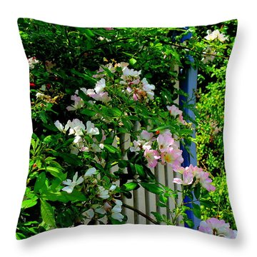 A Warm Welcome Throw Pillow