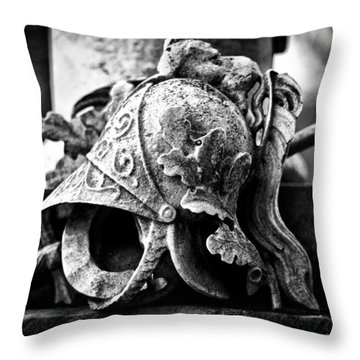 A Warrior Remembered Throw Pillow by Scott Wyatt